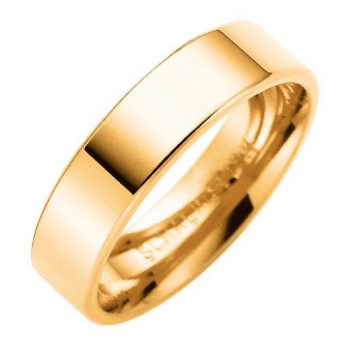Förlovningsring i 18K guld 5mm, 55