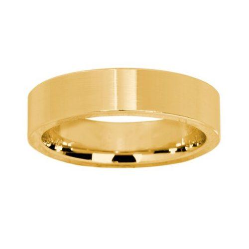 Förlovningsring i 18K guld 5mm, 61