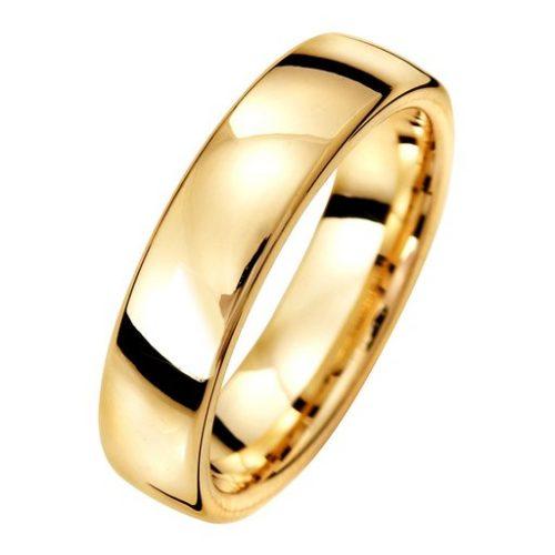 Förlovningsring i 18K guld 5mm, 67