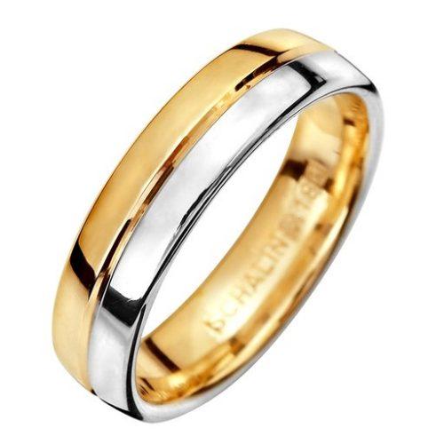 Förlovningsring i 18K guld 5mm, 71