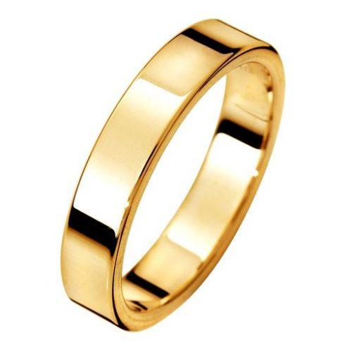 Förlovningsring i 18K guld, 60