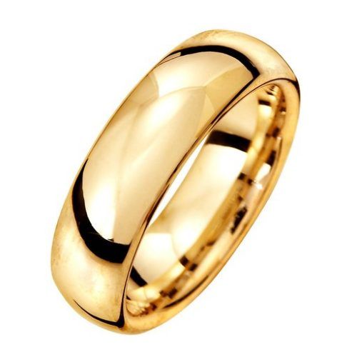 Förlovningsring i 18K guld 6mm, 50