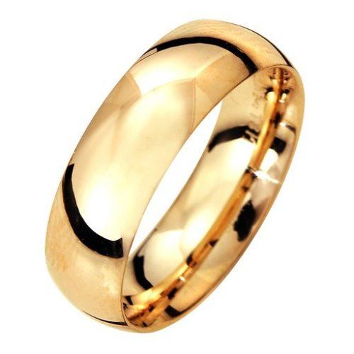 Förlovningsring i 18K guld 6mm, 70