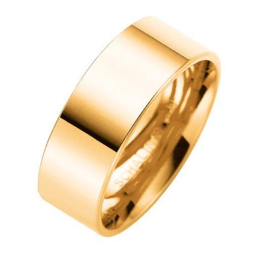 Förlovningsring i 18K guld 7mm, 48