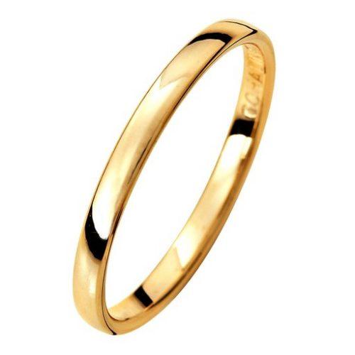 Förlovningsring i 9K guld 2mm, 47