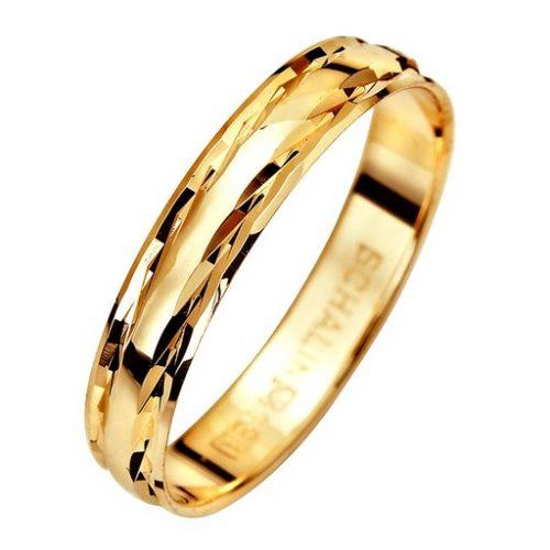 Förlovningsring i 9K guld 3,5mm, 51