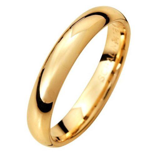Förlovningsring i 9K guld 3,5mm, 66