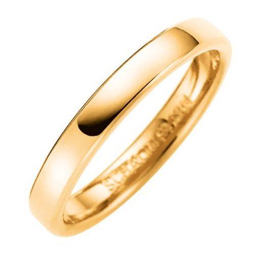 Förlovningsring i 9K guld 3mm, 52
