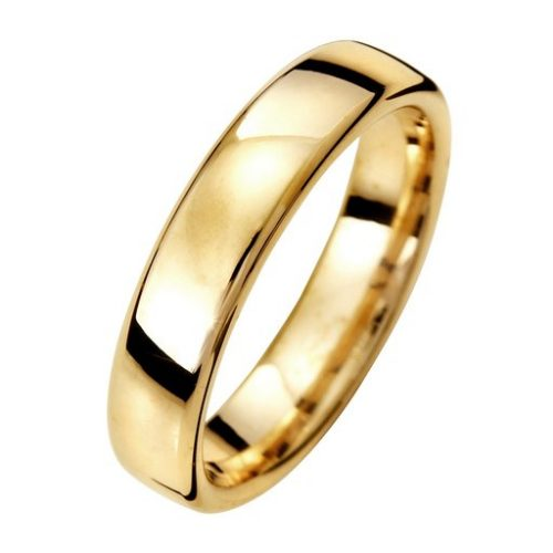 Förlovningsring i 9K guld 4,5mm, 46
