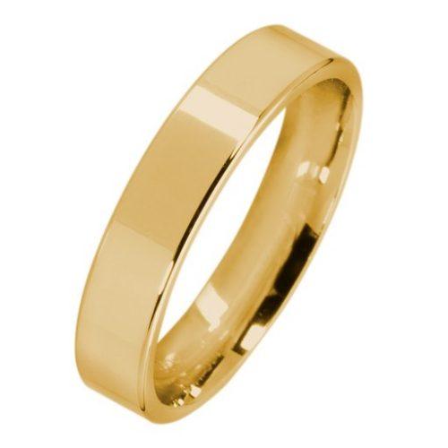 Förlovningsring i 9K guld 4mm, 46