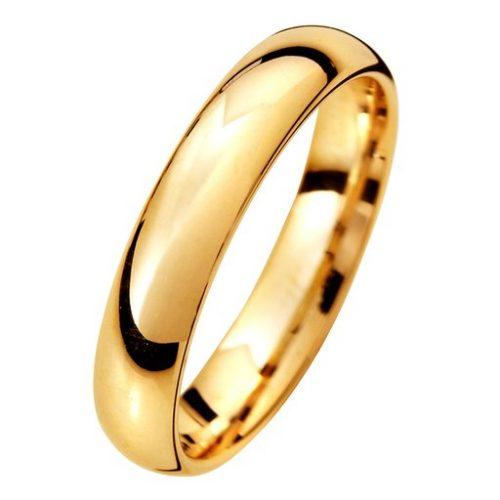 Förlovningsring i 9K guld 4mm, 50