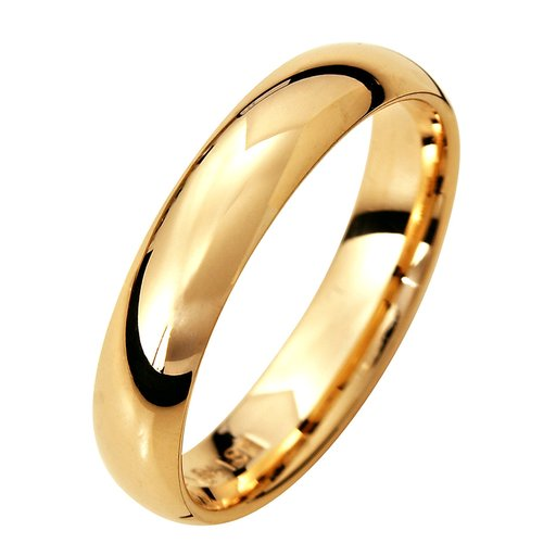 Förlovningsring i 9K guld 4mm, 63