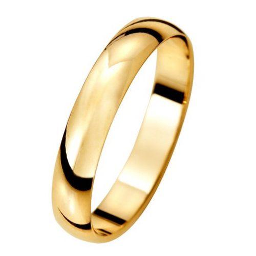 Förlovningsring i 9K guld, 50