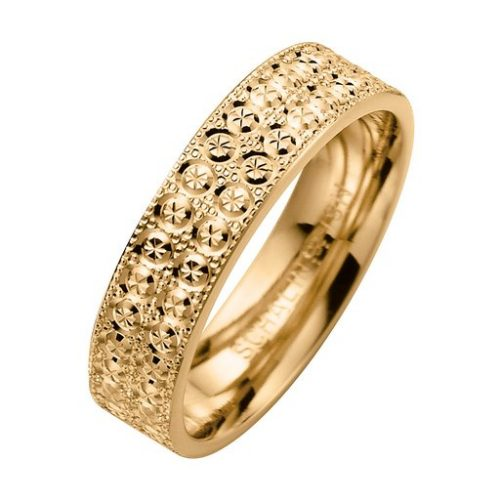 Förlovningsring i 9K guld, 52