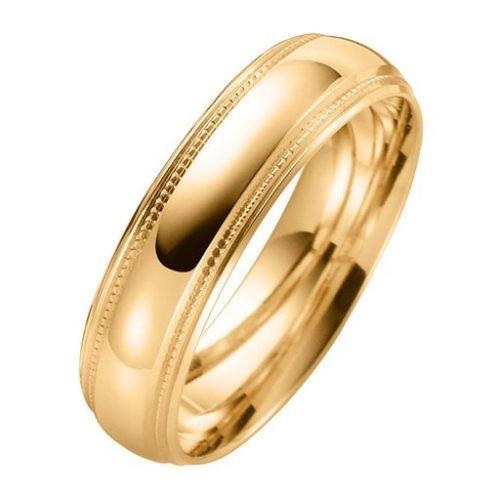 Förlovningsring i 9K guld, 53