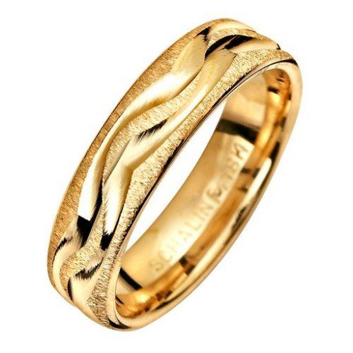 Förlovningsring i 9K guld 5mm, 60