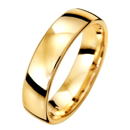 Förlovningsring i 9K guld 5mm, 65