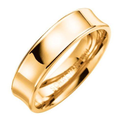 Förlovningsring i 9K guld 5mm, 74