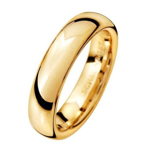 Förlovningsring i 9K guld 5mm, 75