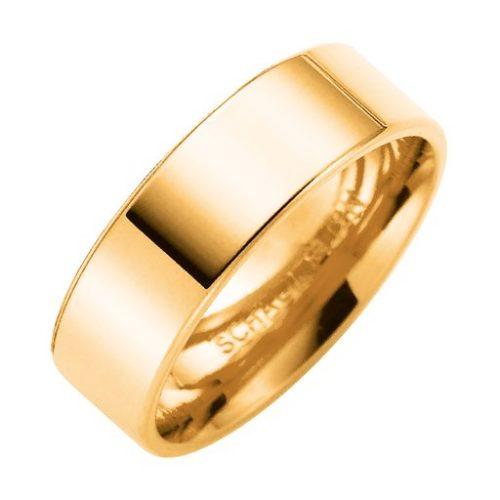 Förlovningsring i 9K guld 6mm, 45