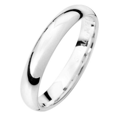 Förlovningsring i äkta silver 3,5mm, 74