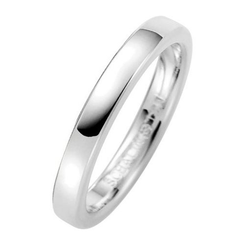 Förlovningsring i äkta silver 3mm, 46