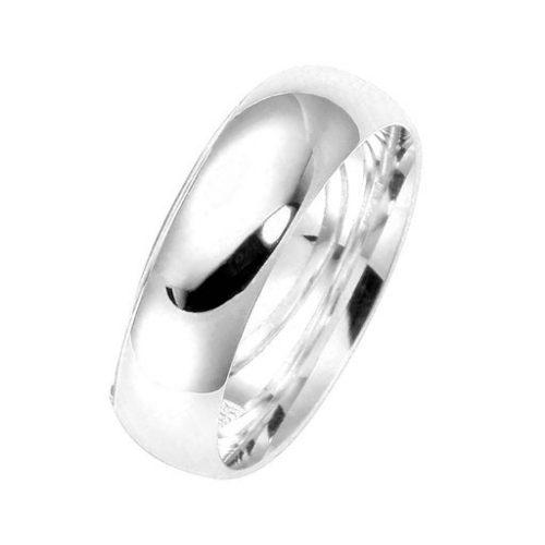 Förlovningsring i äkta silver, 49