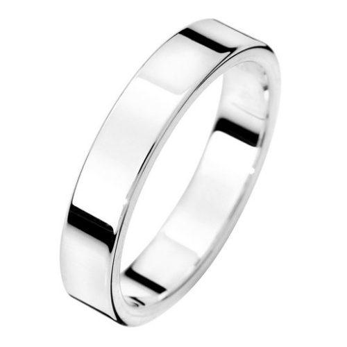 Förlovningsring i äkta silver 4mm, 49