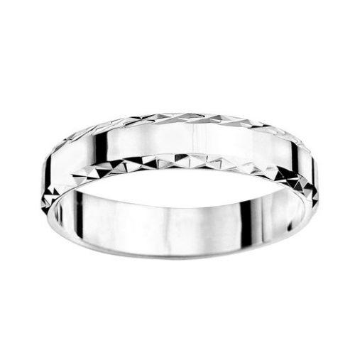 Förlovningsring i äkta silver 4mm, 52