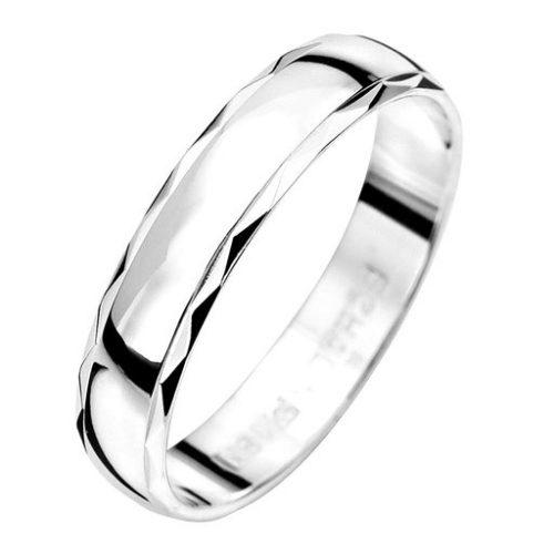 Förlovningsring i äkta silver 4mm, 54