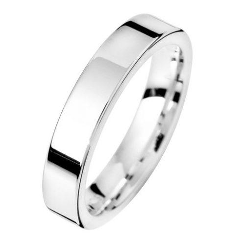 Förlovningsring i äkta silver 4mm, 55