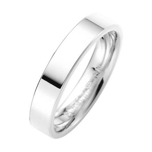 Förlovningsring i äkta silver 4mm, 56