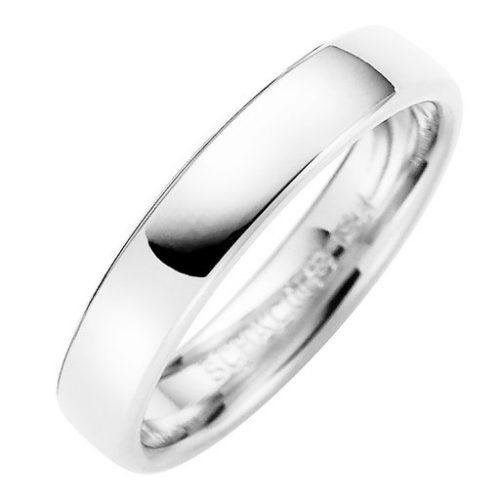 Förlovningsring i äkta silver 4mm, 57