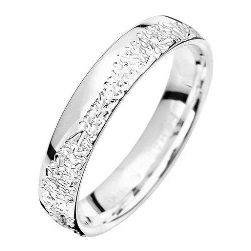 Förlovningsring i äkta silver 4mm, 68