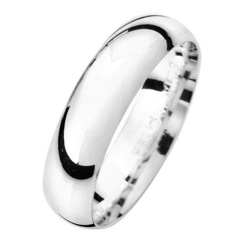 Förlovningsring i äkta silver 5mm, 48