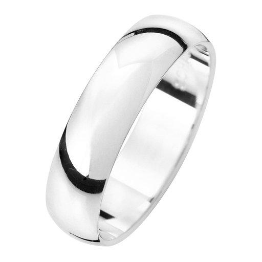 Förlovningsring i äkta silver 5mm, 52