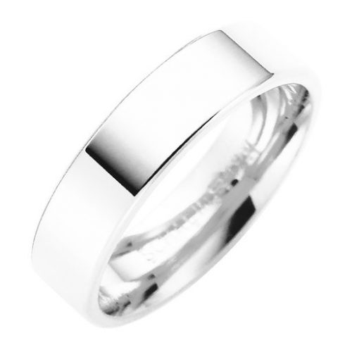 Förlovningsring i äkta silver 5mm, 55