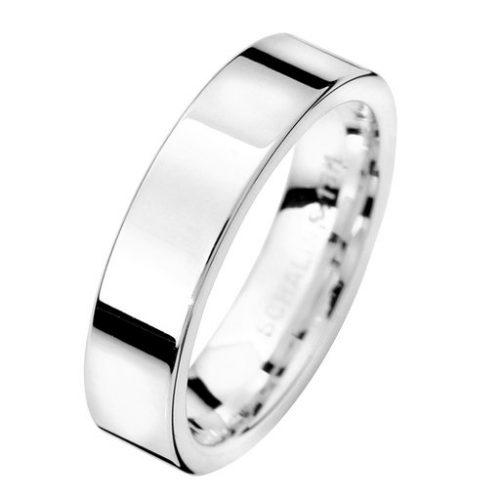 Förlovningsring i äkta silver 5mm, 64