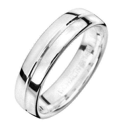 Förlovningsring i äkta silver 5mm, 65