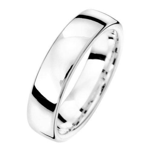 Förlovningsring i äkta silver 5mm, 69