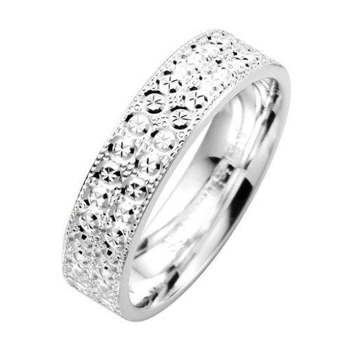 Förlovningsring i äkta silver, 61