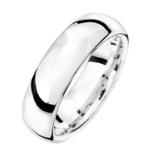 Förlovningsring i äkta silver 6mm, 66