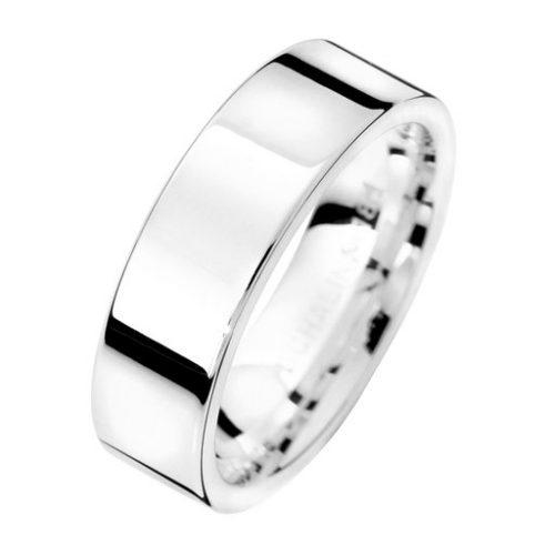 Förlovningsring i äkta silver 6mm, 69