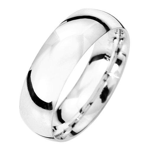 Förlovningsring i äkta silver 6mm, 74