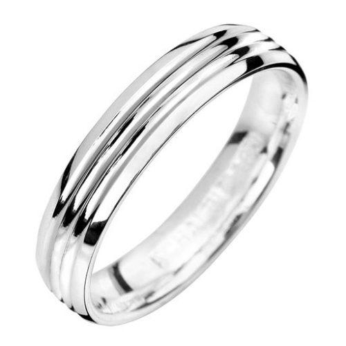 Förlovningsring i äkta silver, 75