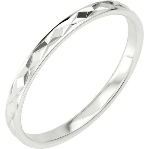 Förlovningsring i äkta silver, 76