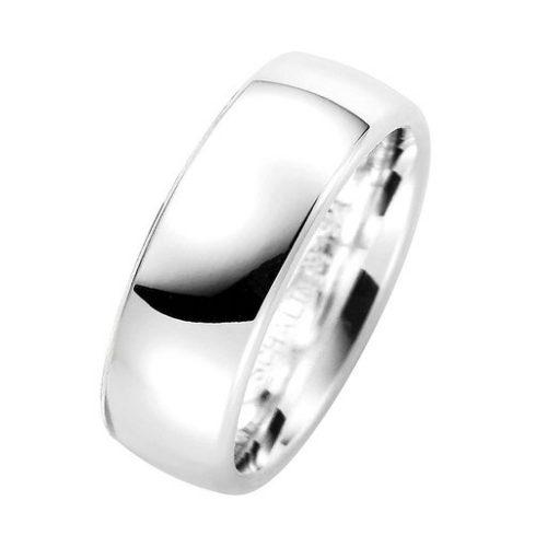 Förlovningsring i äkta silver 7mm, 47