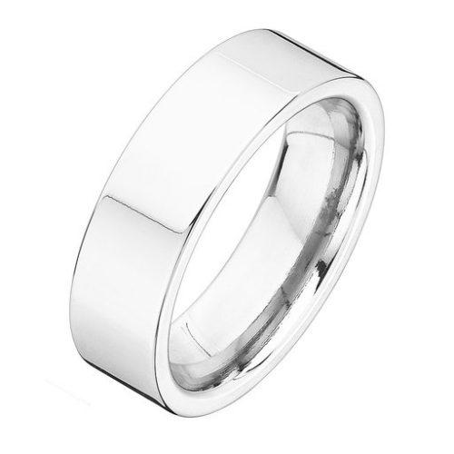 Förlovningsring i äkta silver 7mm, 55