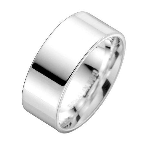 Förlovningsring i äkta silver 9mm, 49