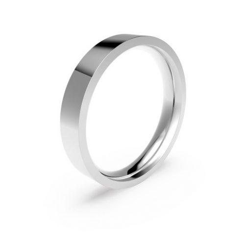 Förlovningsring i platina 4mm, 53
